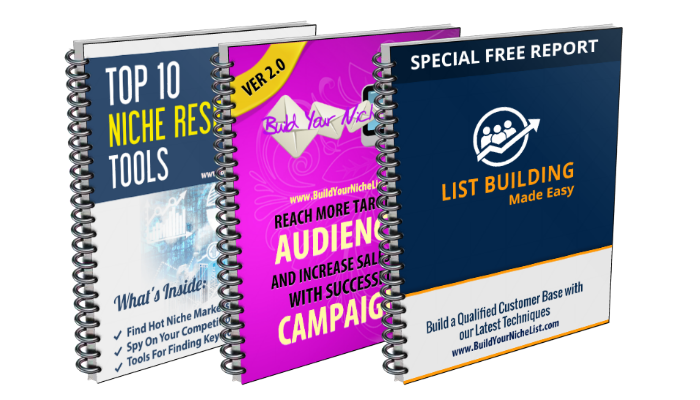 Build Your Niche List Free Member Report